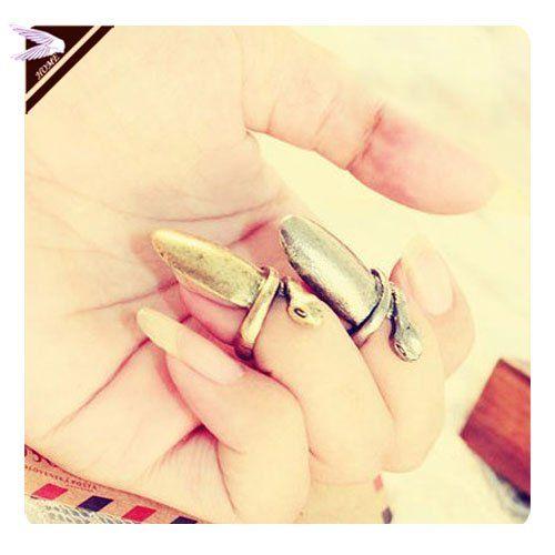 Mode antique bronze Punk Cool anneau de serpent bague pour fille Lady Punk ongles anneau AR046 dans Bagues de Bijoux sur AliExpress.com | Alibaba Group