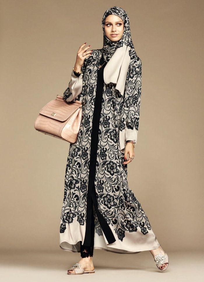 Dolce & Gabbana Hijaba Abaya Collection Photos