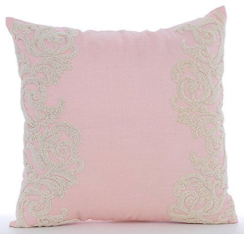 Luxury Pink Decorative Pillows Cover, Beaded Floral Borde... https://www.amazon.com/dp/B016H8UD6Y/ref=cm_sw_r_pi_dp_x_twi-ybC8NF1X7