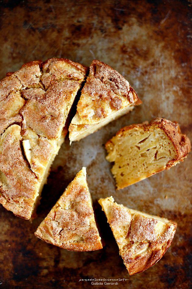 Torta di mele con la ricotta senza burro senza olio e senza glutine | PANEDOLCEALCIOCCOLATO