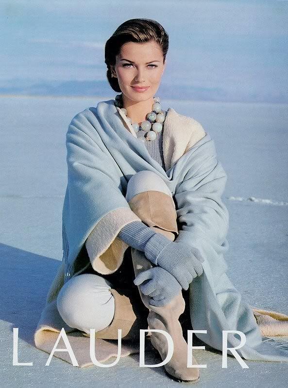Paulina Porizkova- This was such a beautiful ad!
