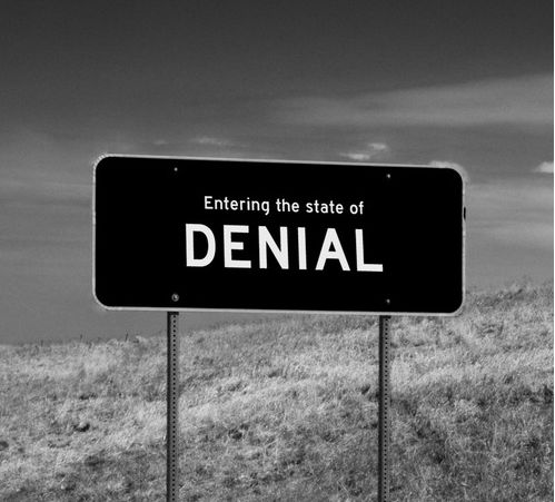Your Are Entering State Of Denial  By WRDBNR