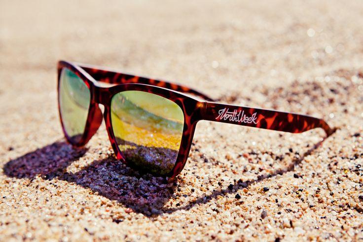 Tortoise front&Arms - orange lenses #Northweek #Sunglasses #Barcelona http://www.northweek.com/creative