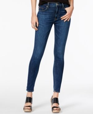 Hudson Jeans Barbara Dream On Wash Cotton Skinny Jeans - Blue 25