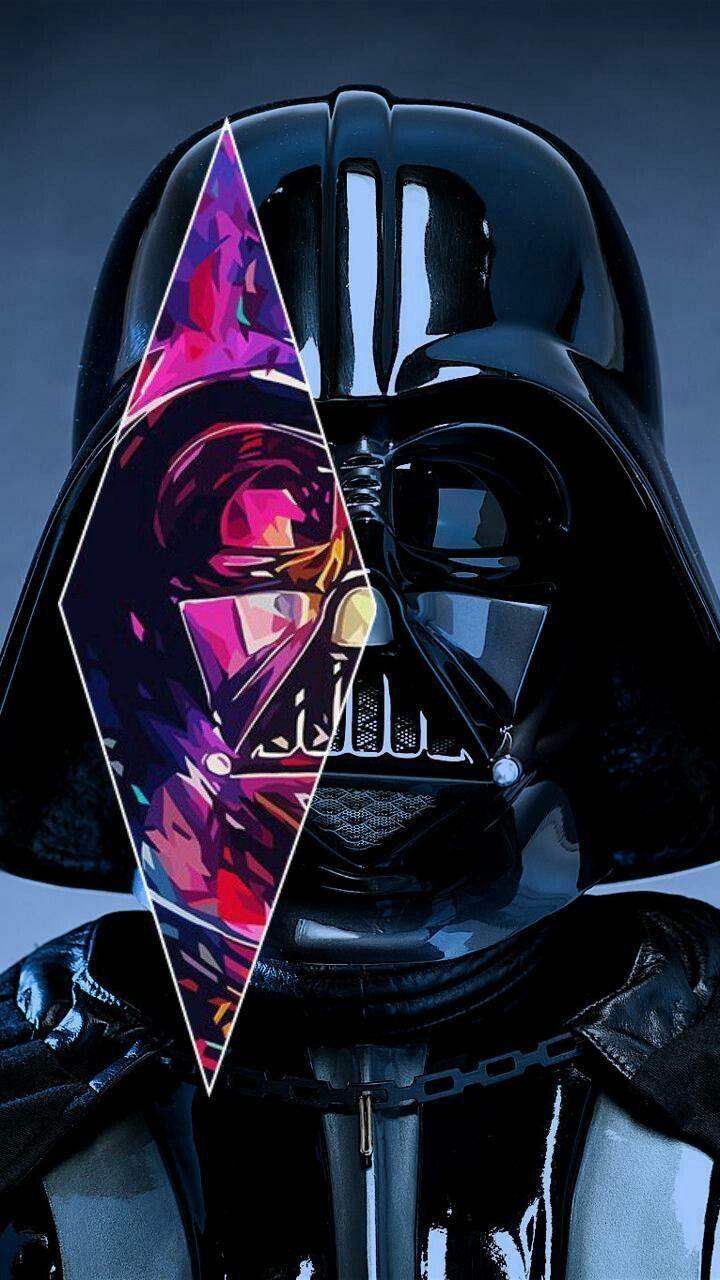 Darth Vader Star Wars Hd Wallpaper Android Star Wars Background Star Wars Painting Star Wars Images