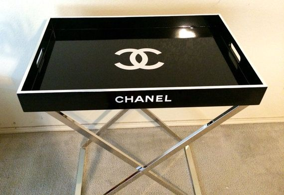 Fabulous Chanel Replica Tray Table Cocktail Table Serving