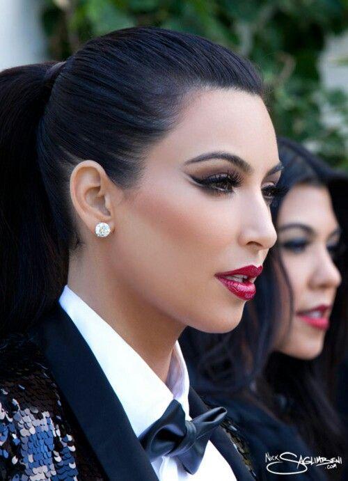 Kim K, extravagant make-up ♥