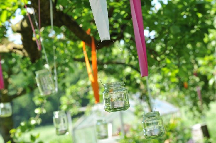 Sfeer in je tuin met deze gekleurde kaarsjes