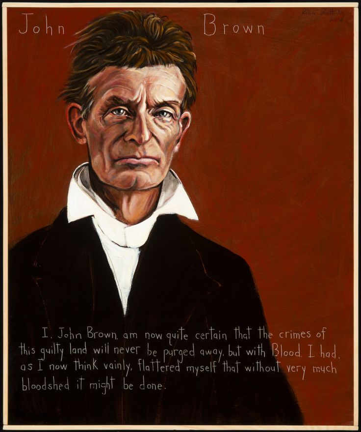 Film clip. Voices of a People's History. Dramatic reading John Brown's Last Speech delivered on November 2, 1859, by Josh Brolin.