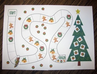 Decorate the Christmas Tree Free Cooperative Game Printable