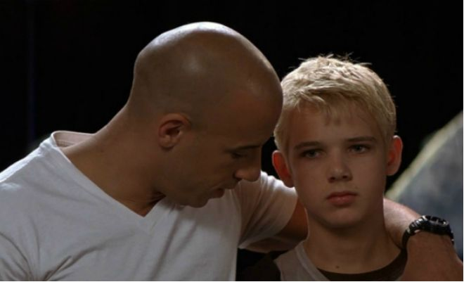 Vin Diesel And Max Thieriot In The Picture The Pacifier Max Thieriot The Pacifier Movie Vin Diesel