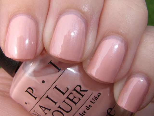 OPI - Pistol Packin Pink  - Discontinued