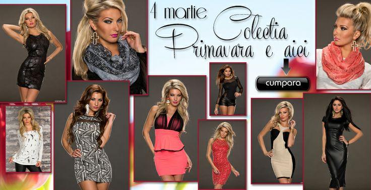 "Colectia ""Primavara e aici"" http://www.fashionagenda.ro/colectia-noua"