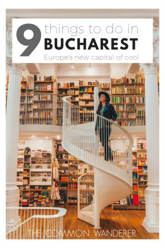 Our list of the top 9 things to do in Romania's cool capital city, Bucharest. Includes everything from hidden beer gardens to city walking tours | Best of Bucharest | Best things to do in Bucharest | Things to see and do in Bucharest | Bucuresti things to do | Must see Bucharest | Guide to Bucharest | Bucharest guide