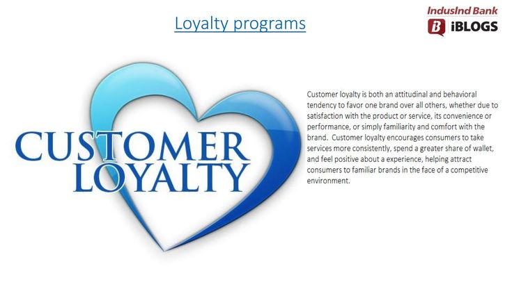 #Customerloyaltyprograms is a key to keep your customers satisfied and also increase customer-retention levels.
