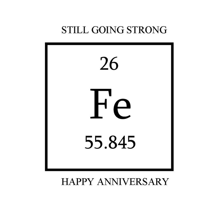 Iron Anniversary Greeting Cards by naturestouchb on Etsy, $4.00