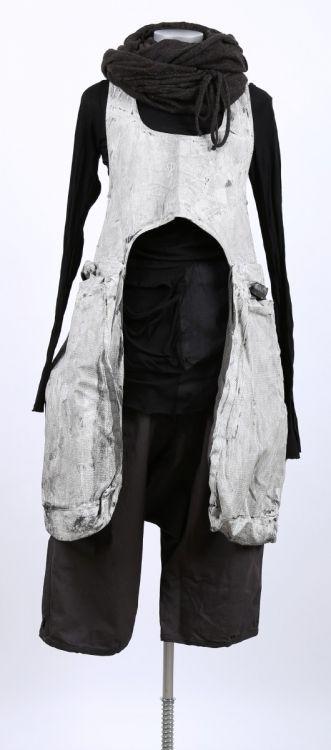 rundholz dip - Taschenkleid Cotton wilder mohn - Sommer 2015 - stilecht - mode für frauen mit format...