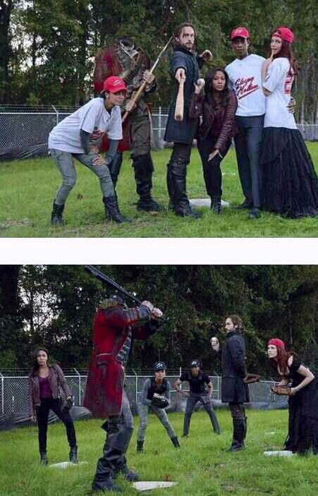 Um, this is awesome! The cast of Sleepy Hollow is hilarious!