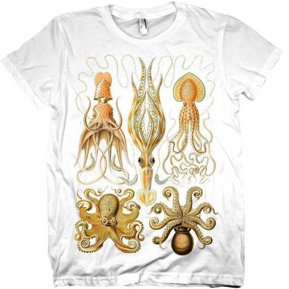 Octopus Vintage Graphic  T-shirt
