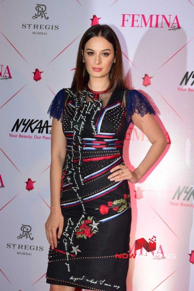 Evelyn Sharma Femina Beauty Awards 2017 red carpet