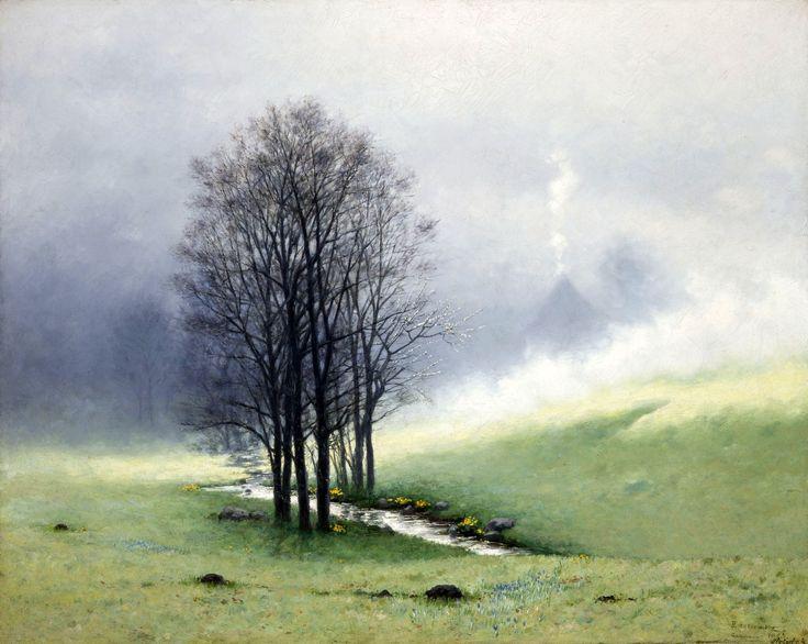 Springtime fog by Stanisław Witkiewicz, 1897 (PD-art/old), Muzeum Narodowe w Krakowie (MNK)