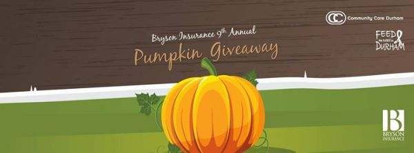 Bryson Insurance Pumpkin Giveaway