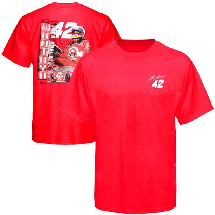 Chase Authentics Juan Pablo Montoya Drive T-Shirt - Red - $14.24