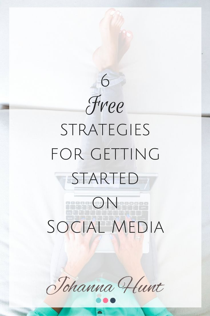Use technology and social media to grow your business. http://johannahunt.ca/get-started-on-social/