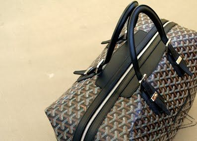 Thanks to my friend Jason, I'm obsessed with the Goyard Boeing 45 travel bag, and I Must Have!