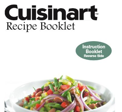Cuisinart Electric Pressure Recipe Booklet | hip pressure cooking