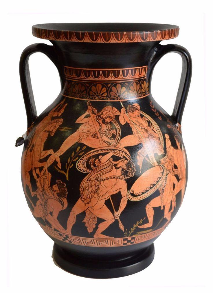 Terracotta Lekanis (dish), c.325 BC - Ancient Greek