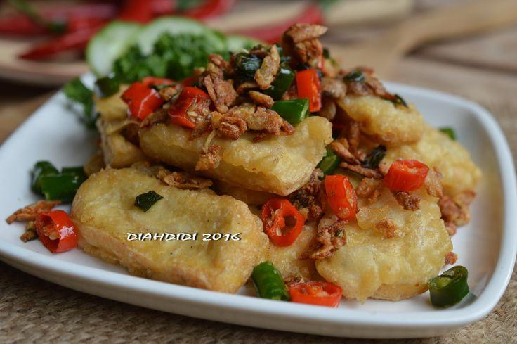 Diah Didi's Kitchen: Olahan Tahu Goreng ala Resto
