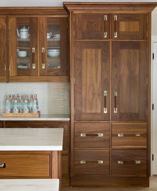 Stained Kitchen Cabinets: 17 Best Images About Cabinet Wood, Style, Handles Etc. On