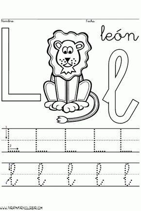 Es imprescindible conocer la dirección de los movimientos que hay que seguir para dibujar las diferentes letras, así como el orden en que...