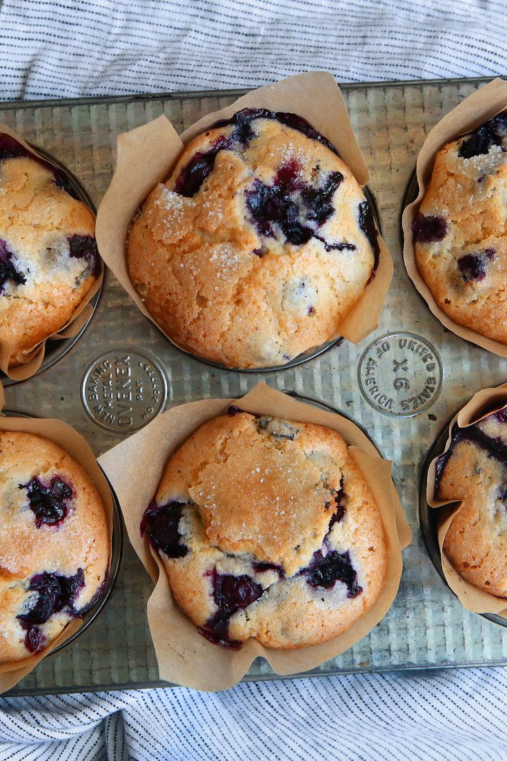"This recipe came to The Times in a 1987 article by Marian Burros, ""The Battle of the Blueberry Muffins."" Two years prior, Ms Burros wrote about a recipe for the muffins attributed to the Ritz-Carlton in Boston The hotel had adapted a recipe used by Gilchrist's, once one of city's best-known department stores"