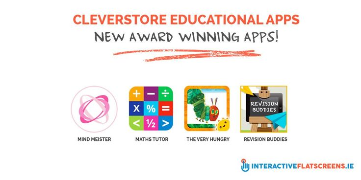Cleverstore Educational Apps - New Award Winning Apps!