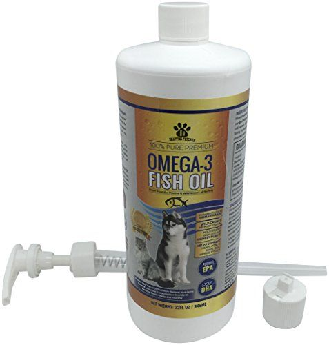 Omega3 fish oil liquid for pets 100 pure natural omega 3 for Where does fish oil come from
