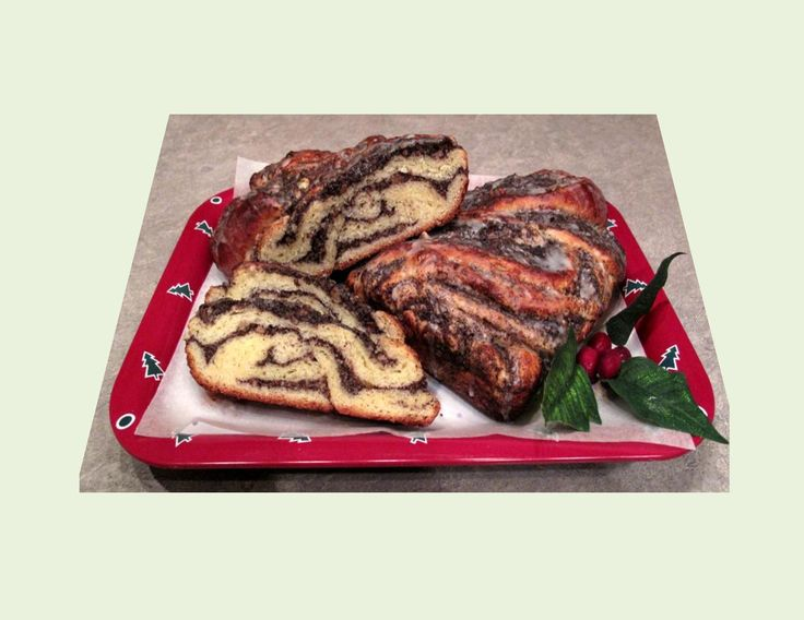 'Mohn Kaffee Rolle'  -  Poppy Seed Coffee Roll - Powered by @ultimaterecipe