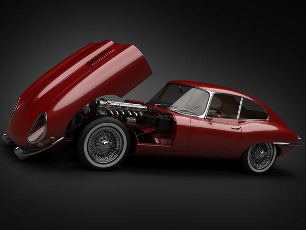 1961 Jaguar E Type.