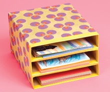 Really awesome craft website with tons of categories and tags for you to choose from.  This will make nannying this summer a million times easier.Duct Tape, Organic, Stores Paper, Cereal Boxes, Scrapbook Paper, Great Ideas, Paper Storage, Wraps Paper, Crafts