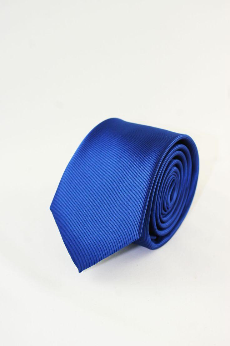corbata azul www.corbatasygemelos.es