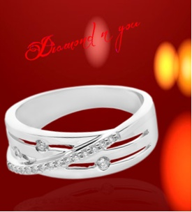 This ring is perfect for those fingers that look for beauty and essence.We bring you a diamond ring that is engaging and stylish enough to be worn every day, and now, shop this ring online here: Diamondnyou.com