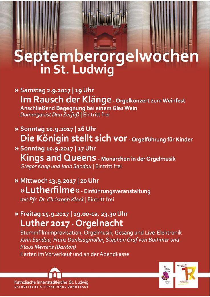Das Portal der Königin - Septemberorgelwochen in Darmstadt