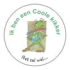 # Coole kikker  kinderen leren kant en klare rake antwoorden te geven en staan nooit meer met een mond vol tanden als ze gepest worden.