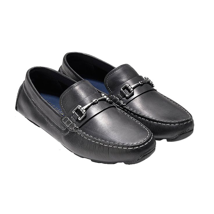 Kelson Bit Driver in Black by Cole Haan