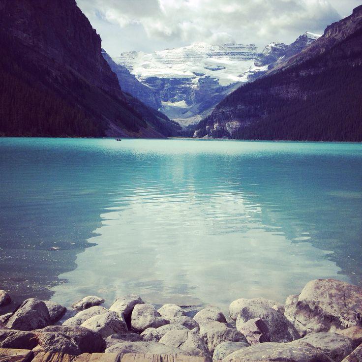 Louise lake! Alberta/Canada