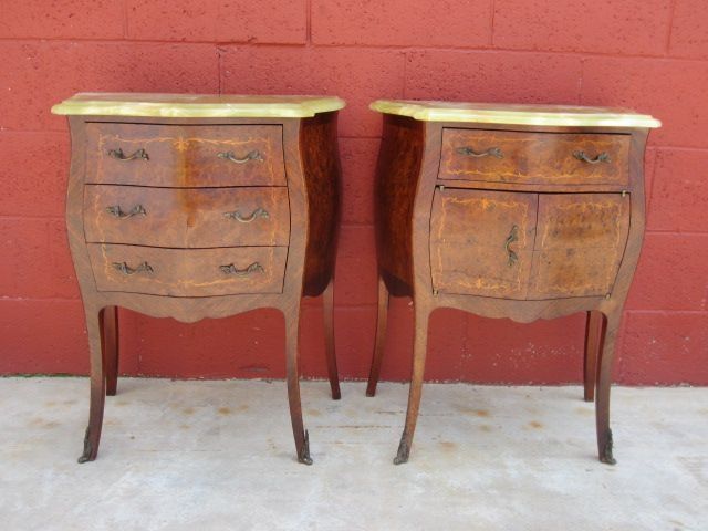 Italian Antique Night Stands Antique Bed Side Tables Lamp