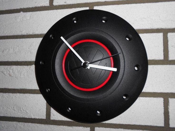 Volkswagen Radkappen Uhr im GTI-Look DIY