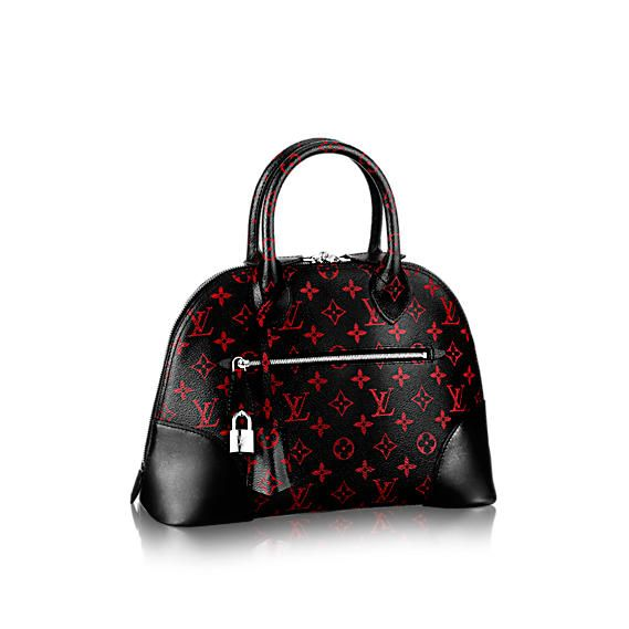#M41500 Louis Vuitton 2015 Monogram Infrarouge ALMA PM Bag
