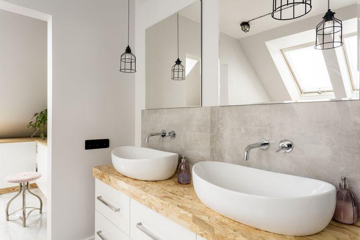 Glazura w całej łazience to już przeszłość. Dzięki farbom Beckers Designer Kitchen & Bathroom ściany można pomalować na modny kolor i stworzyć piękny pokój kąpielowy.